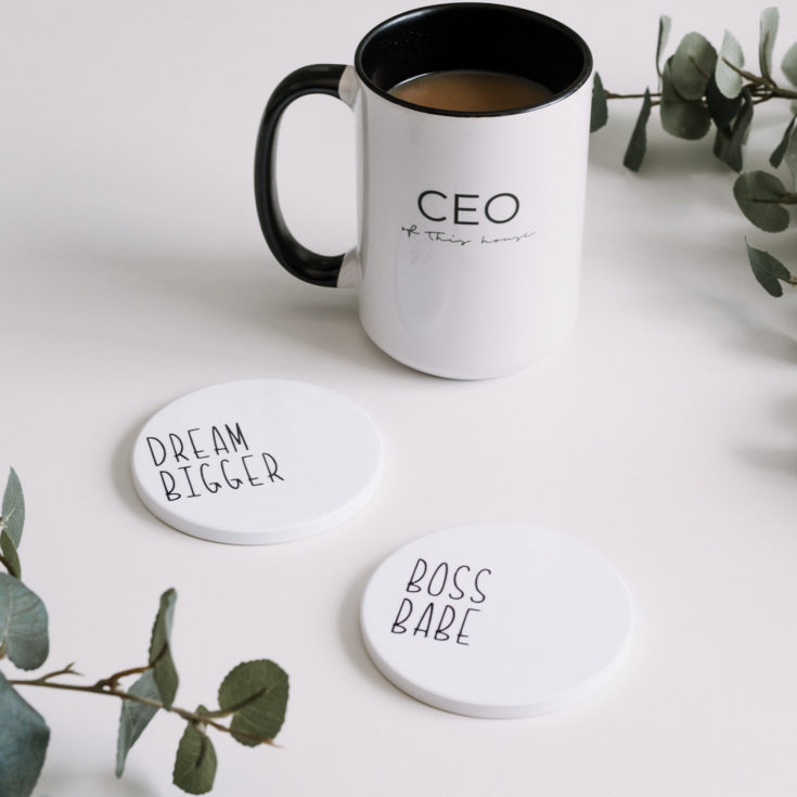 Boss Babe Coasters