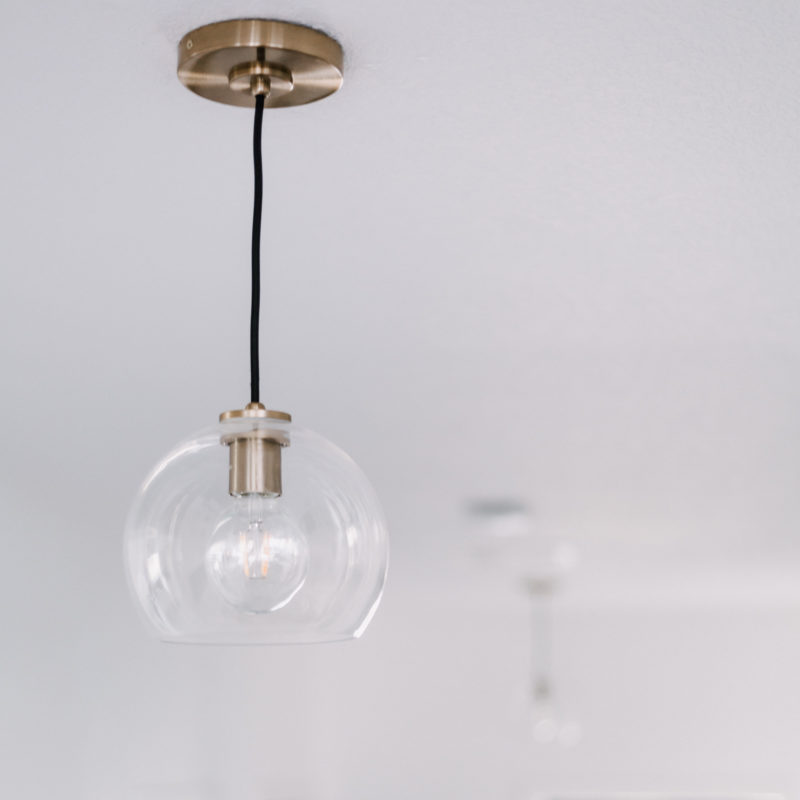 beautiful pendant lighting for the hallway