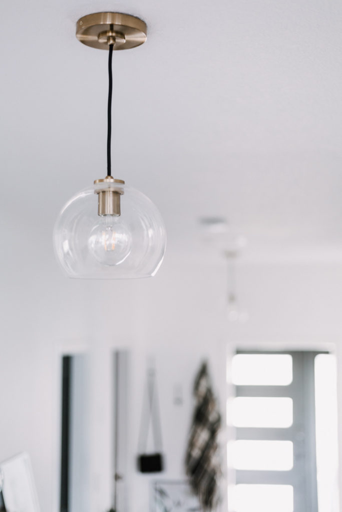 gorgeous modern pendant light for the hallway