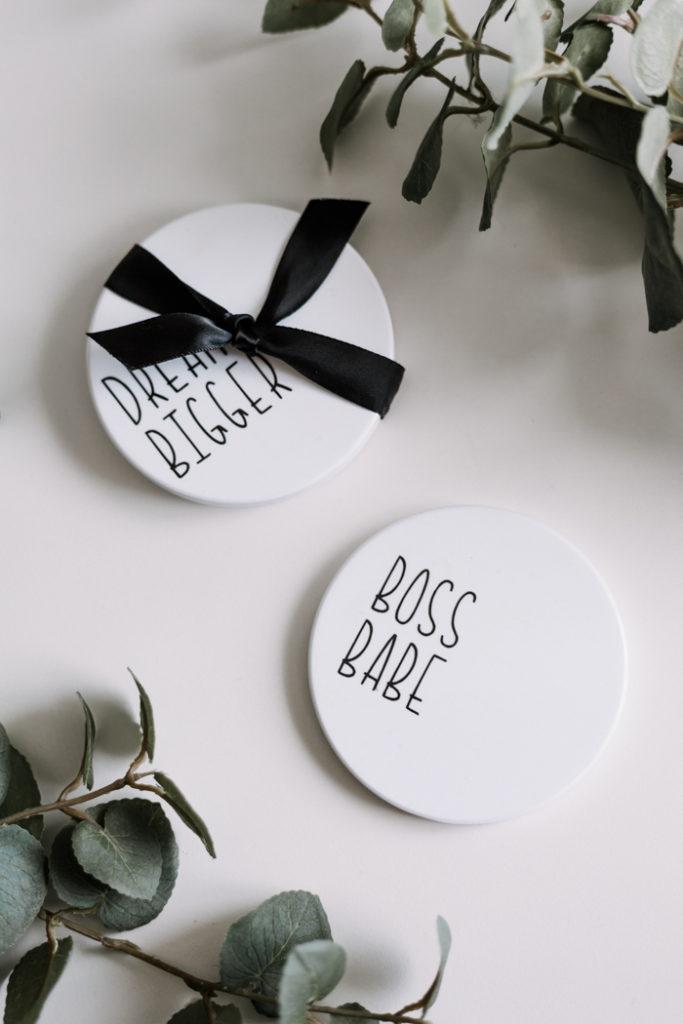 DIY Coaster gift idea