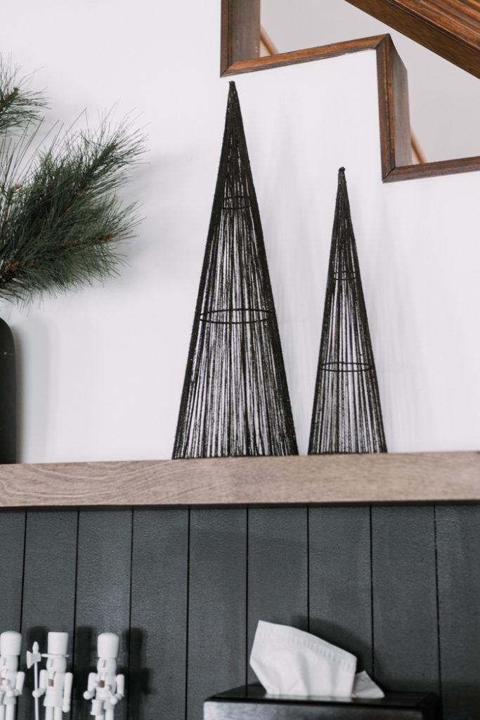 Modern Black Christmas Trees
