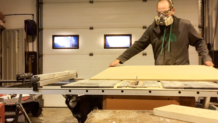 Cutting MDF Boards