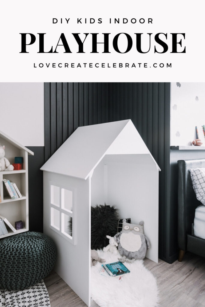 Easy DIY Playhouse build for kids