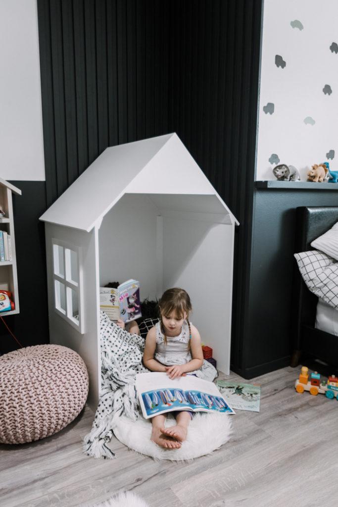 Modern Reading Nook for Kids