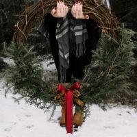 DIY Pine Wreath