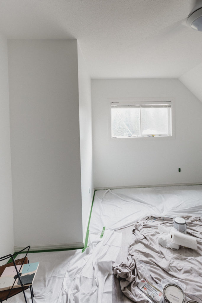 bare bedroom before kids bedroom makeover