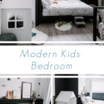 collage of modern kids bedroom furniture for a boy's room