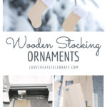 wooden stocking ornaments