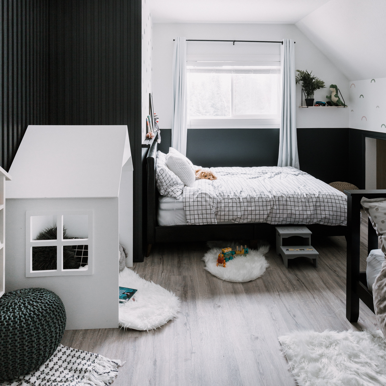 Our Weekend Renovation Shared Kids Bedroom Makeover Love Create Celebrate