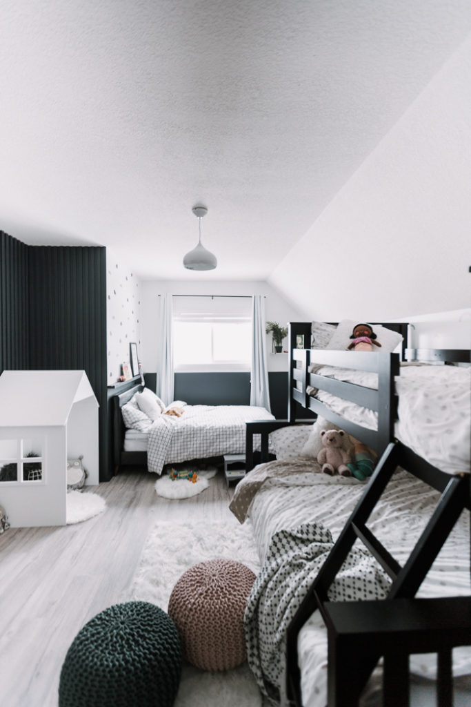 modern shared bedroom design