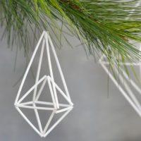 Geometric Himmeli Ornament