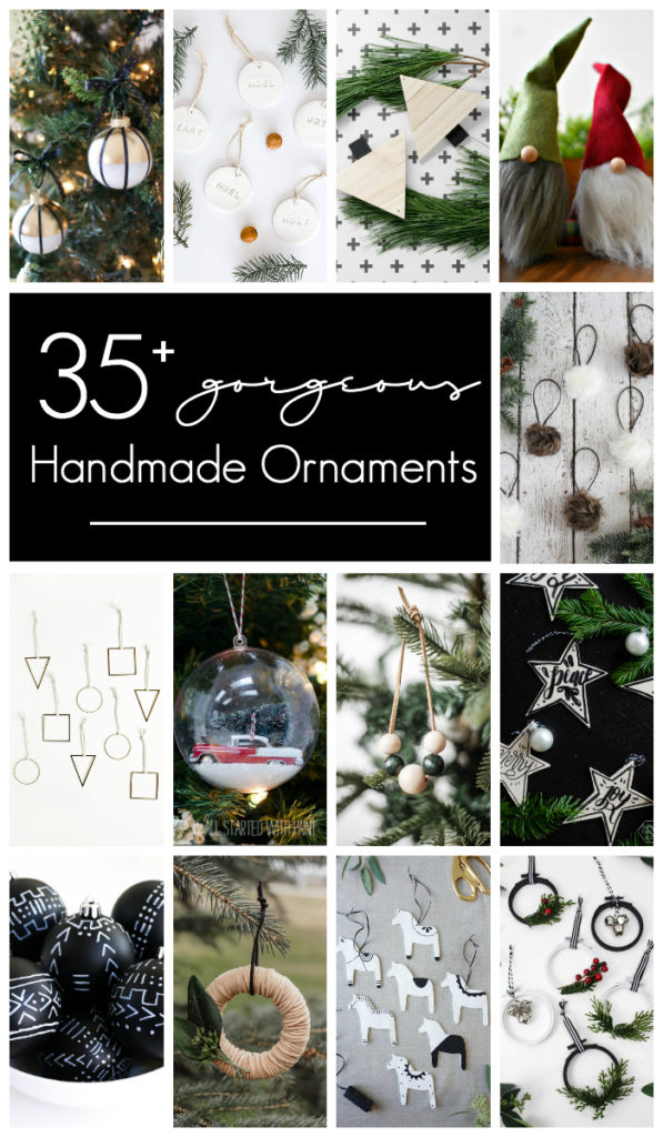 Gorgeous and easy handmade ornament ideas