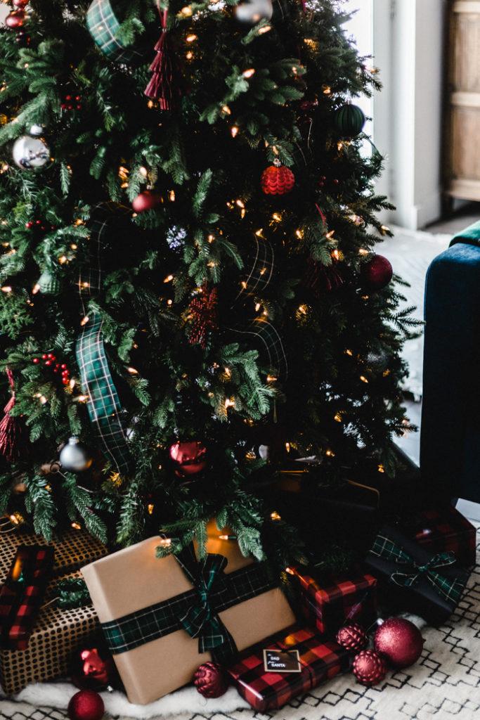 Bright Holiday Christmas Tree