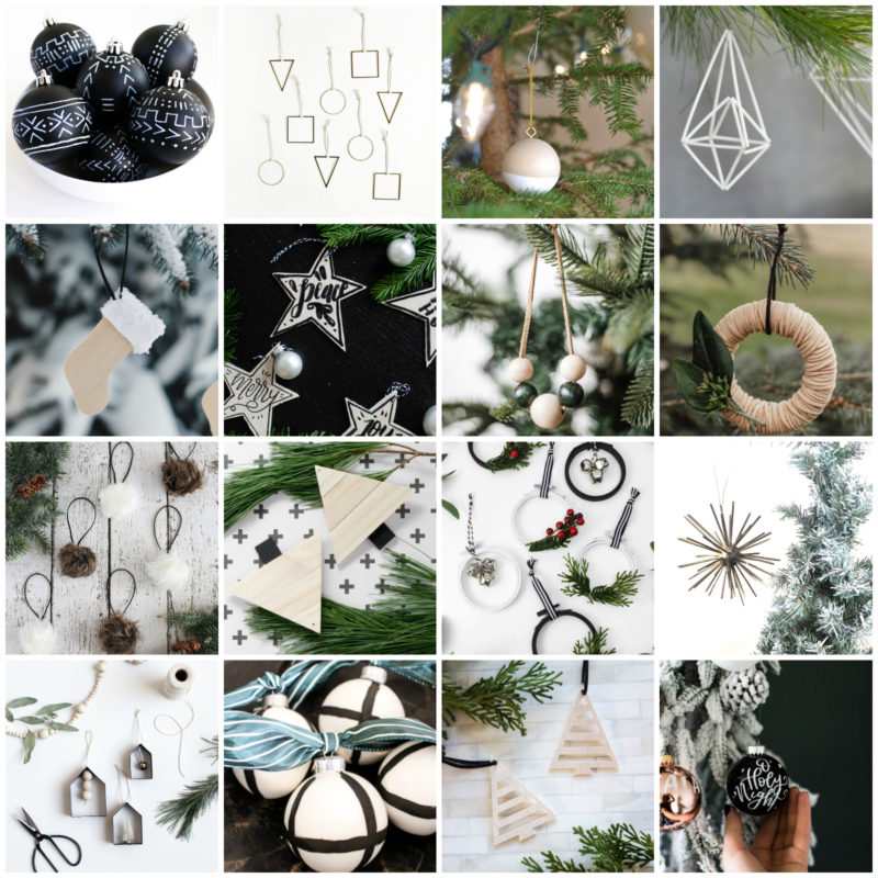 collage of ornament ideas