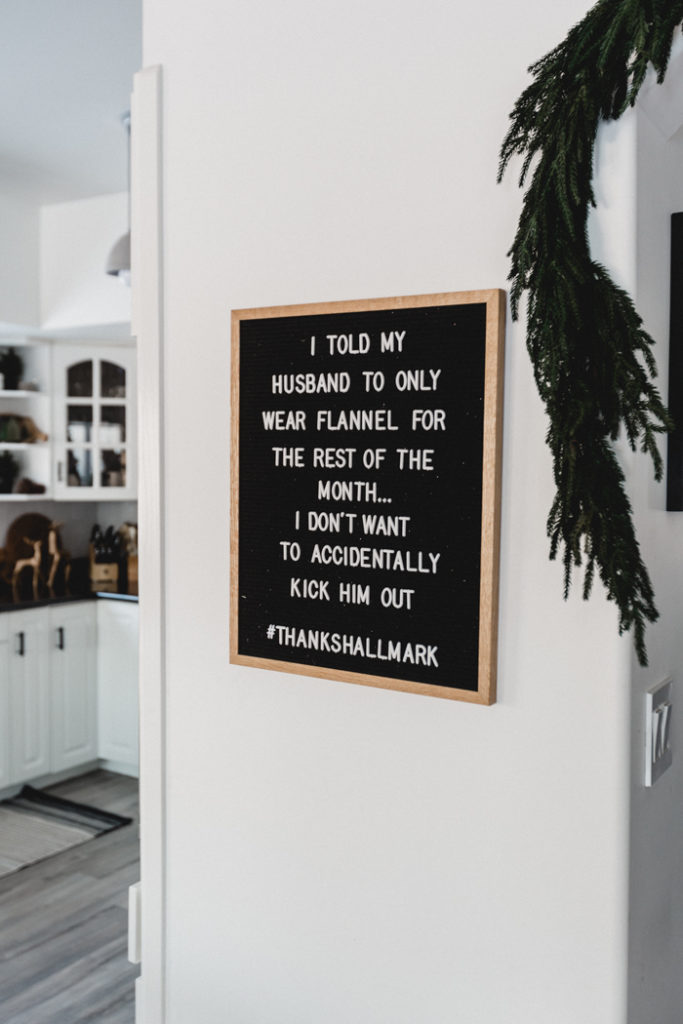 Funny Christmas letterboard