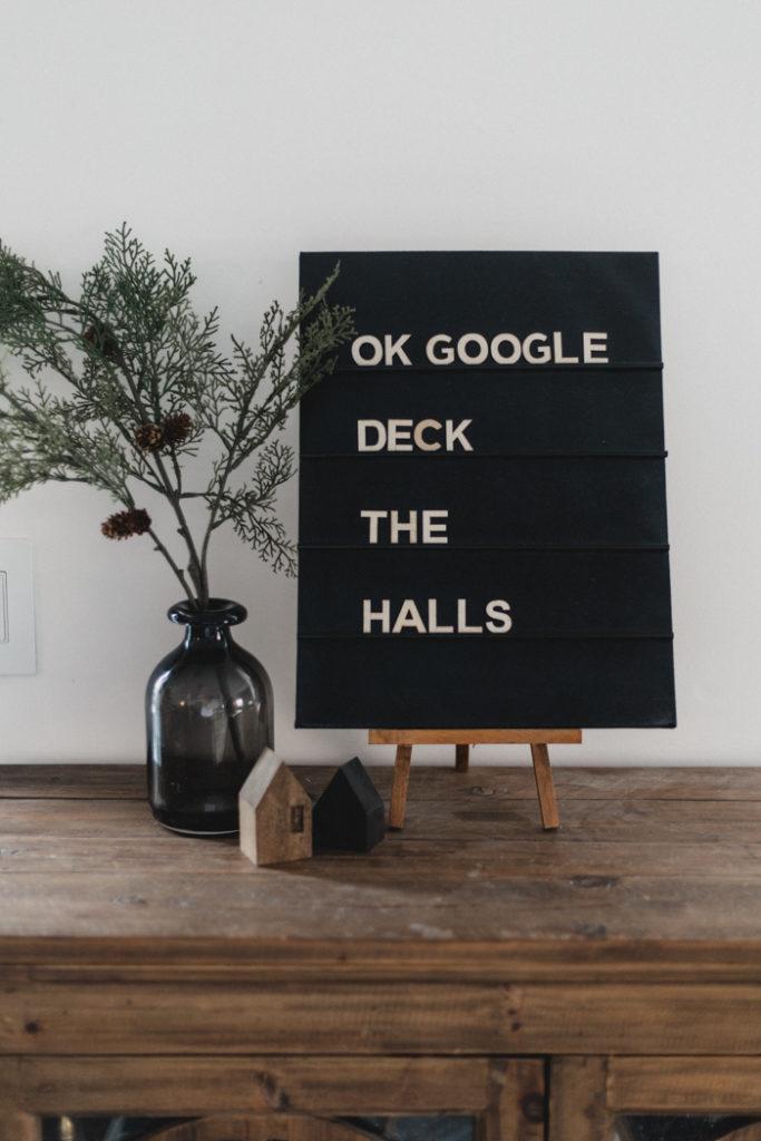 Simple DIY Letterboard
