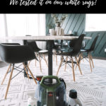 Review of the Bissell Little Green Machine for cleaning rugs and carpets