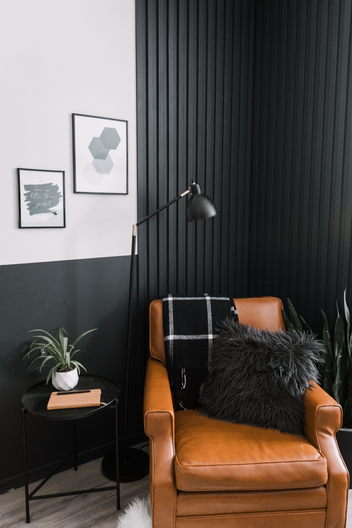How To Make A Diy Wood Slat Accent Wall Love Create Celebrate