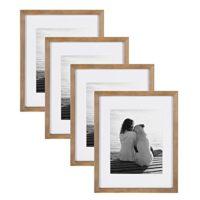 Wood Photo Frame Set