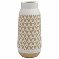 Rustic Tall Stoneware Vase