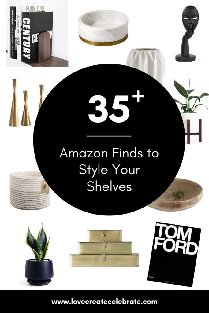 Great home decor pieces to style your shelves