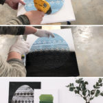 Easy spray paint egg project
