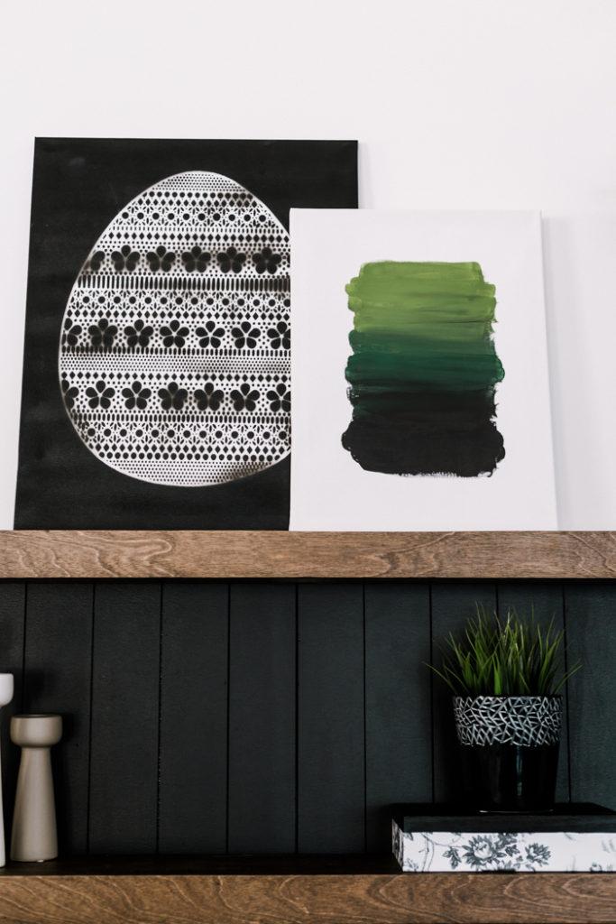 modern Easter artwork