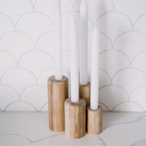 How to make beautiful candlesticks