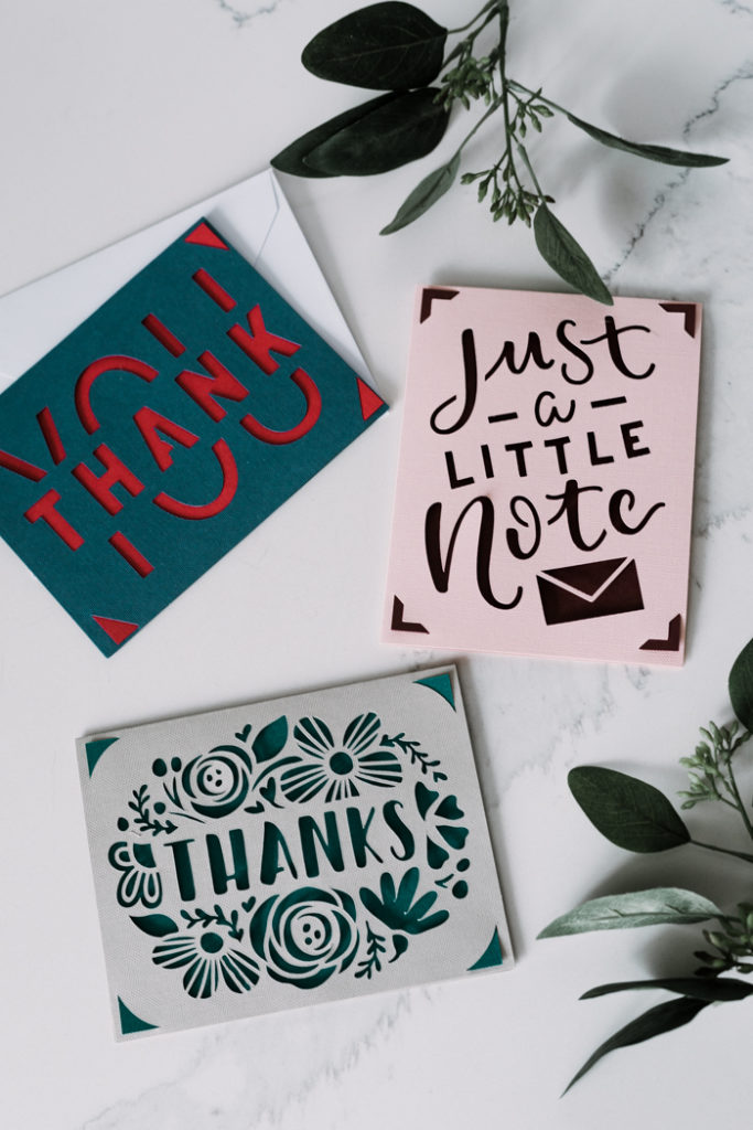 gorgeous collection of thank you cards