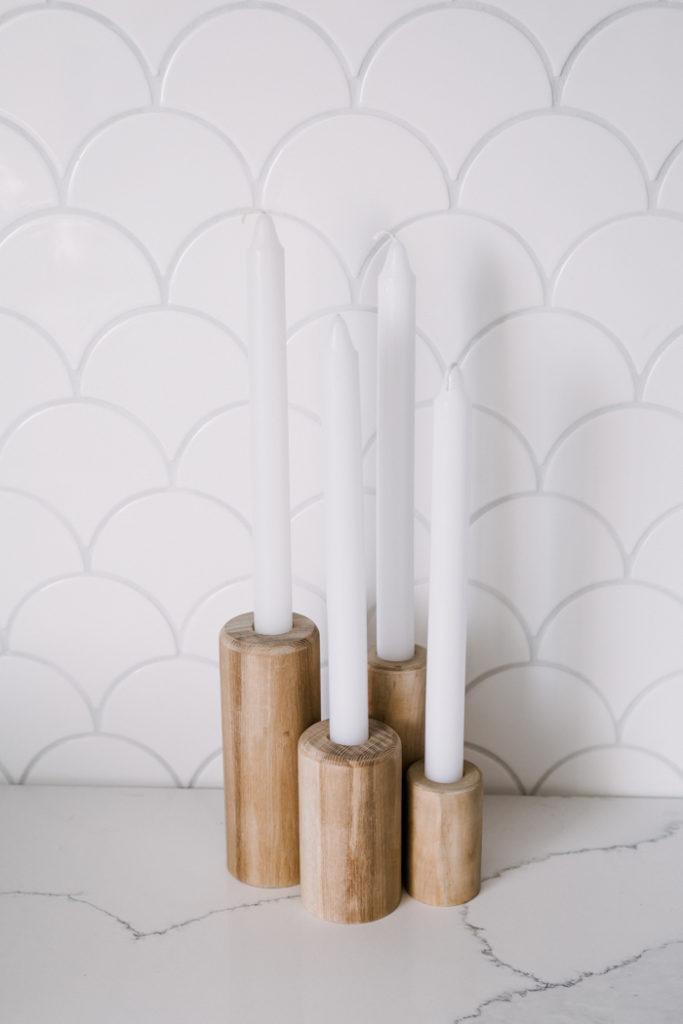modern candlestick holders