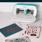 Easy Thank You cards with the Cricut Joy
