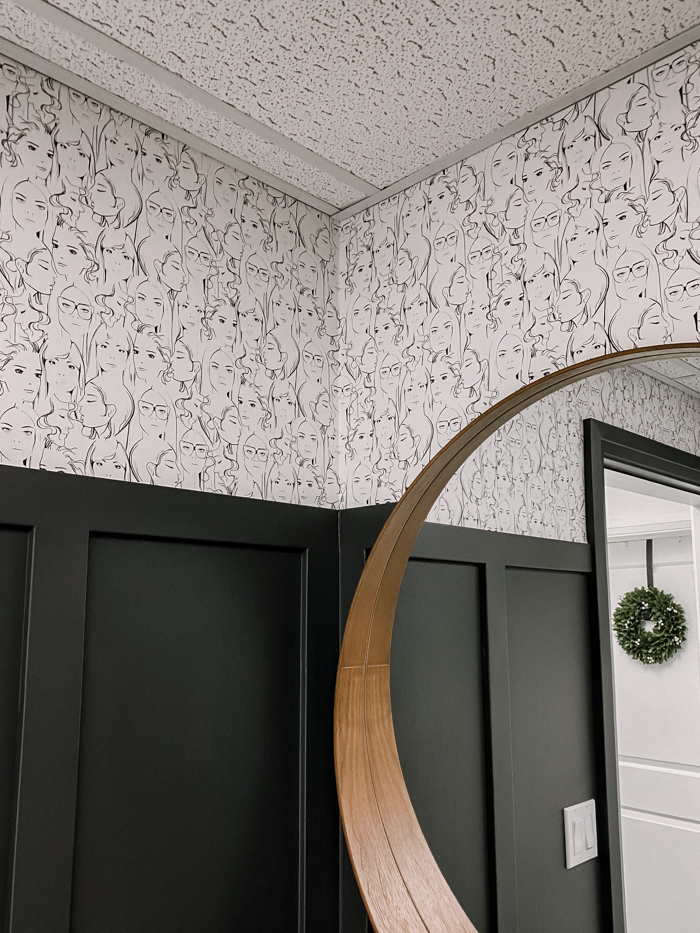 wallpaper around a corner