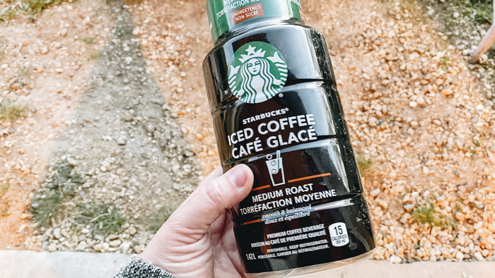 how to re-use a plastic starbucks bottle
