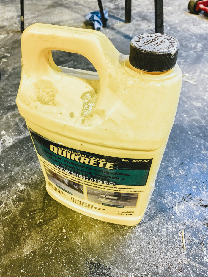 product for sealing concrete