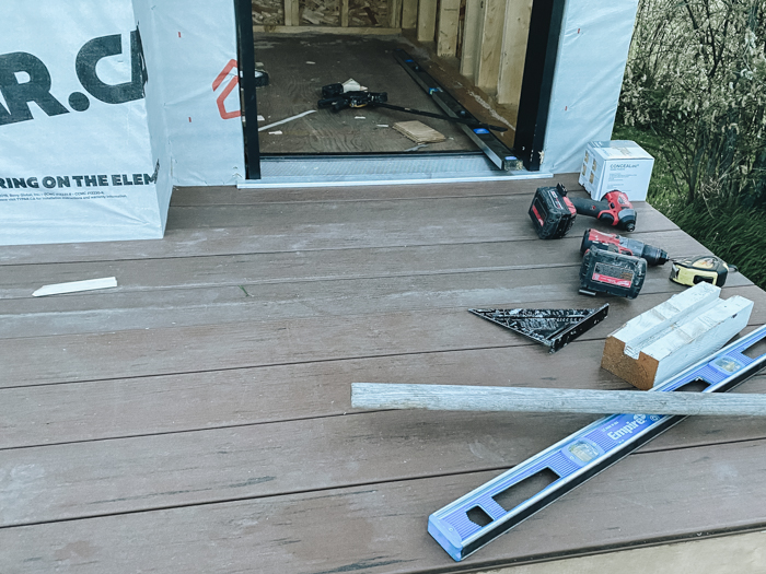 composite decking on playhouse deck