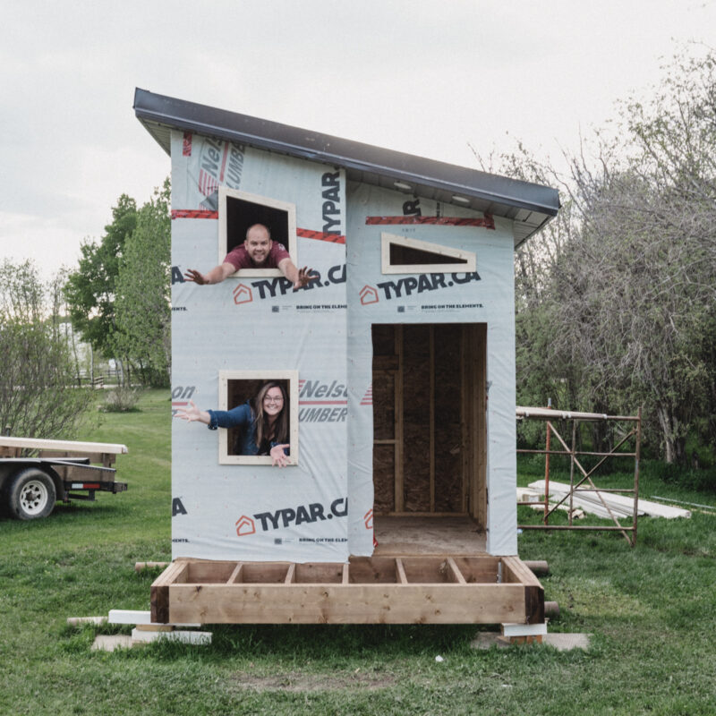 DIY playhouse