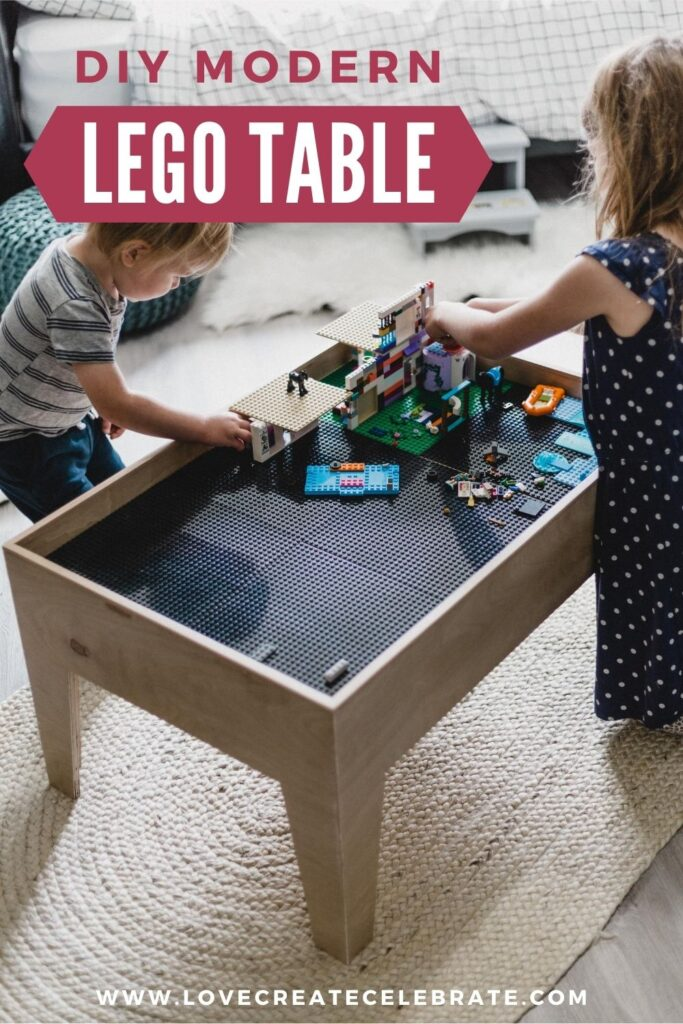 Kids Table Build with Pocket Holes