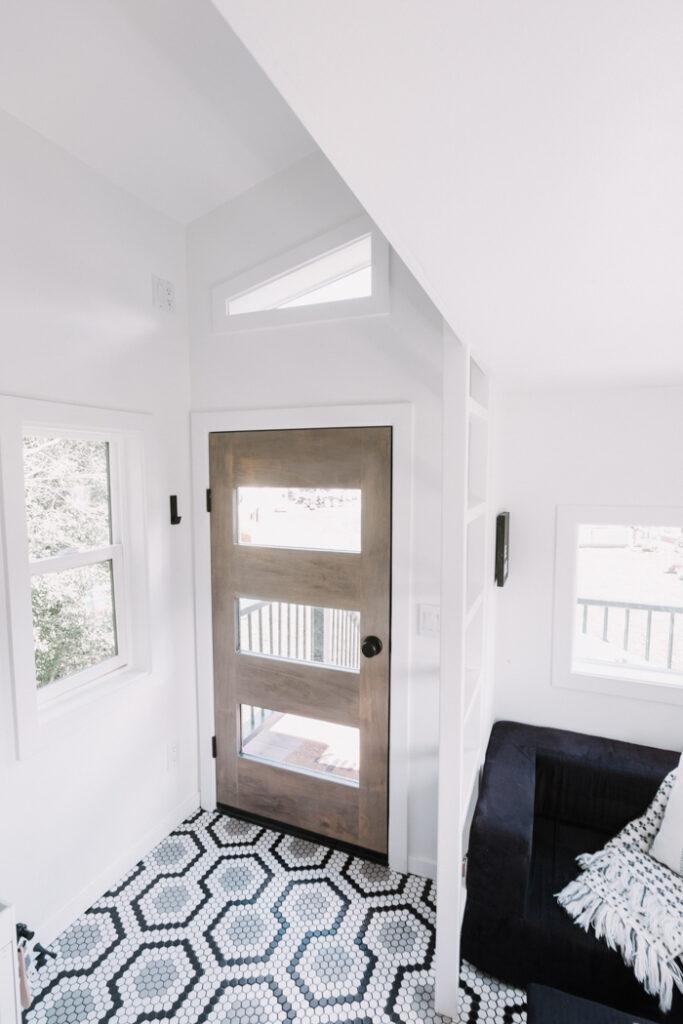 Modern playhouse door build