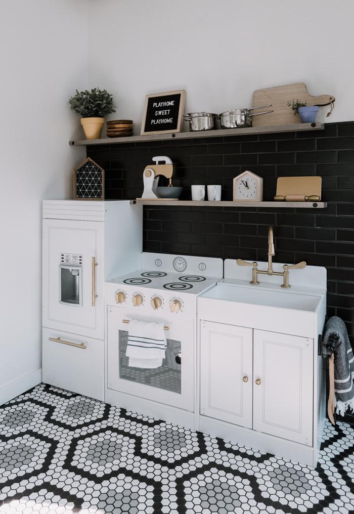 gorgeous playhouse kitchen