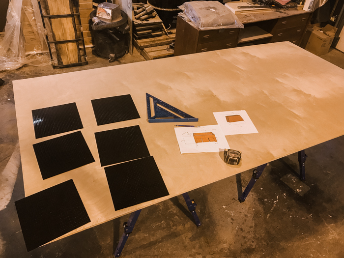 full sheet of plywood for DIY Lego table build