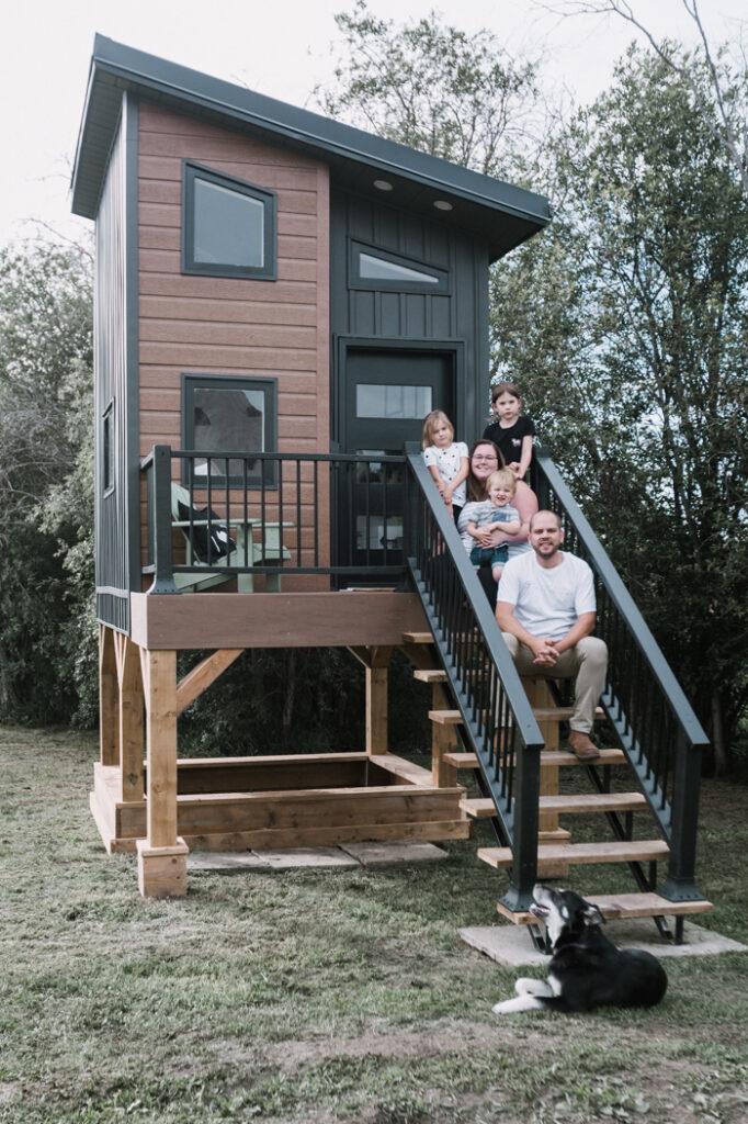 DIY outdoor playhouse build