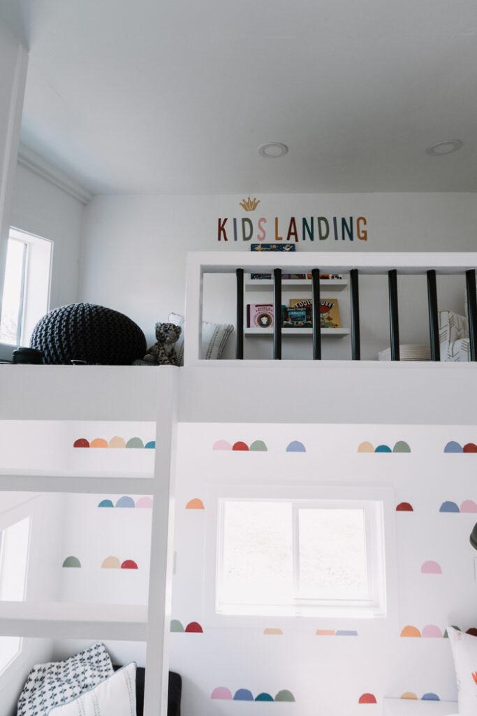 playhouse with a loft