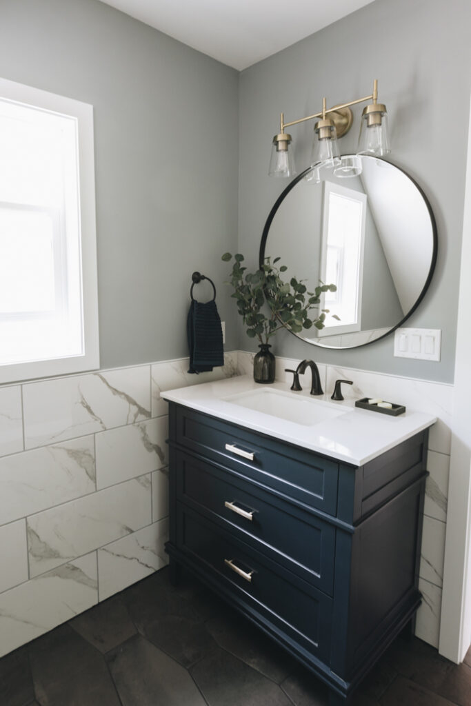 Modern Farmhouse Bathroom Love Create Celebrate