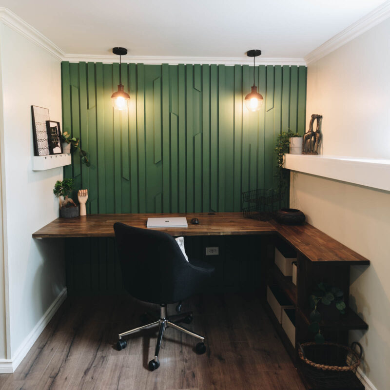 masculine home office design