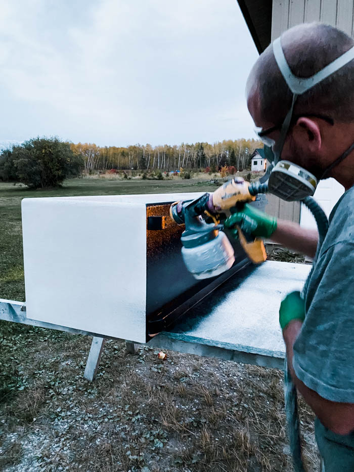 How to use a paint sprayer on furniture