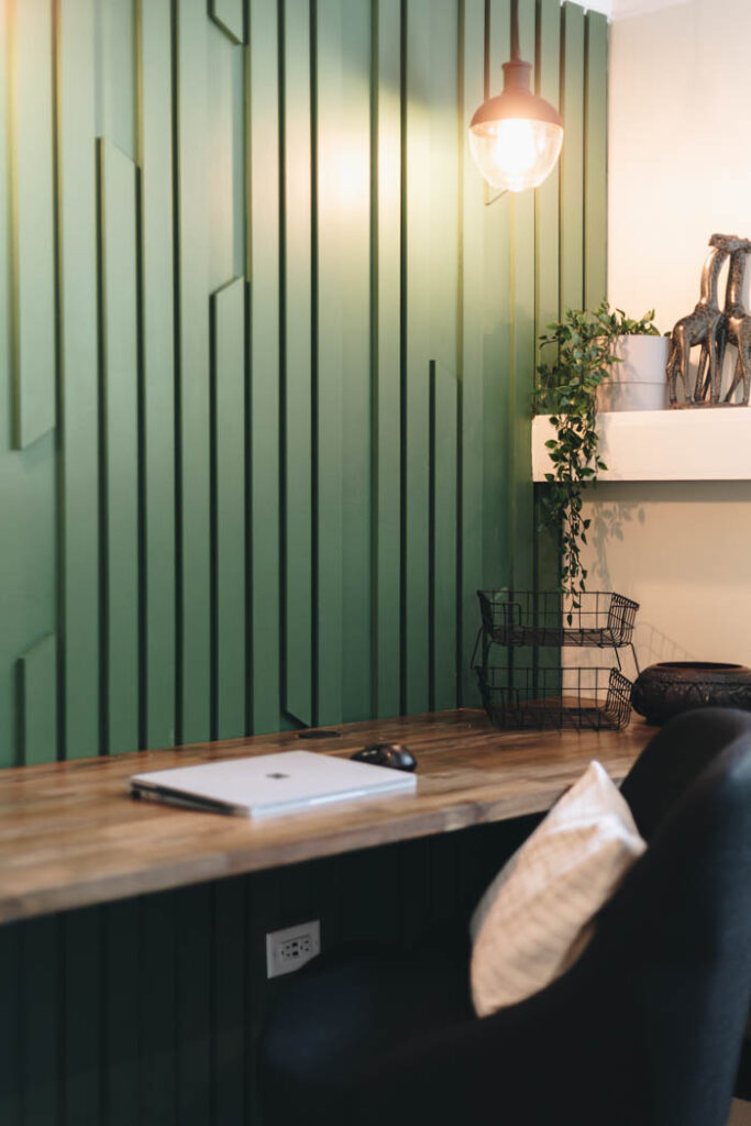 Easy MDF accent wall