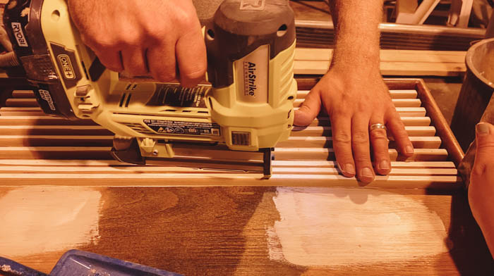 Using a pin nailer with MDF