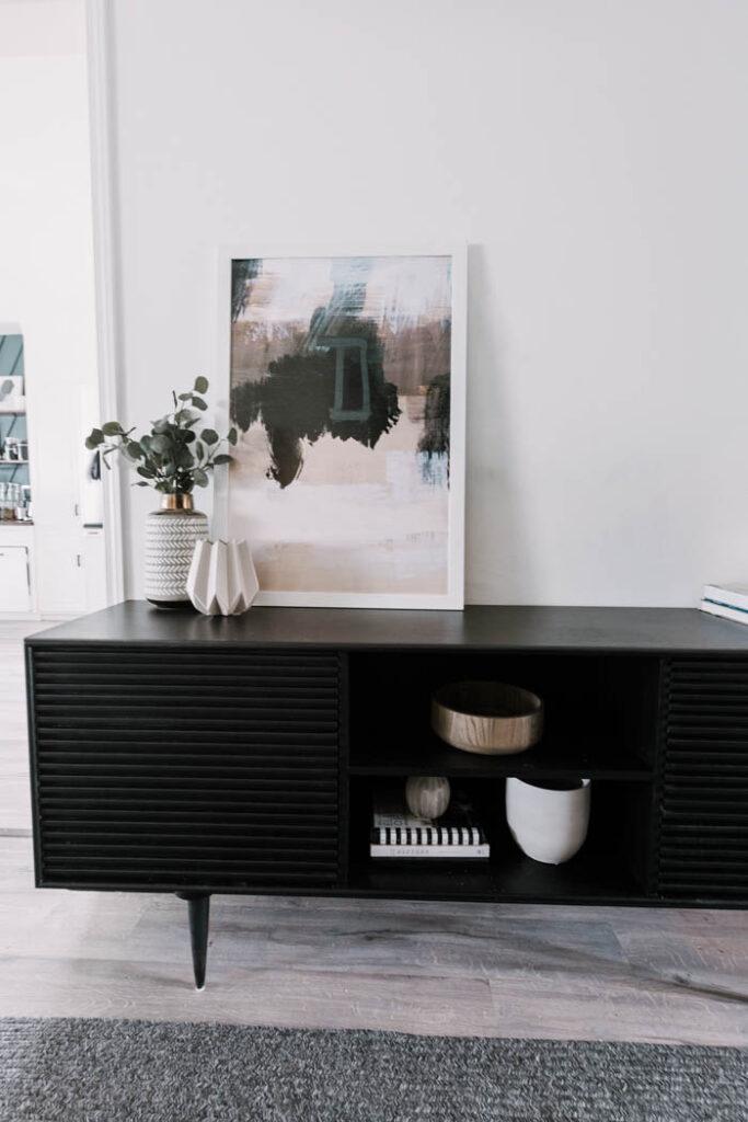 Modern DIY cabinet