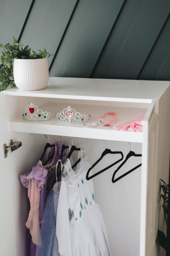 princess storage wardrobe