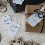 Printable Gift Tags for the Four Gifts Christmas Rule